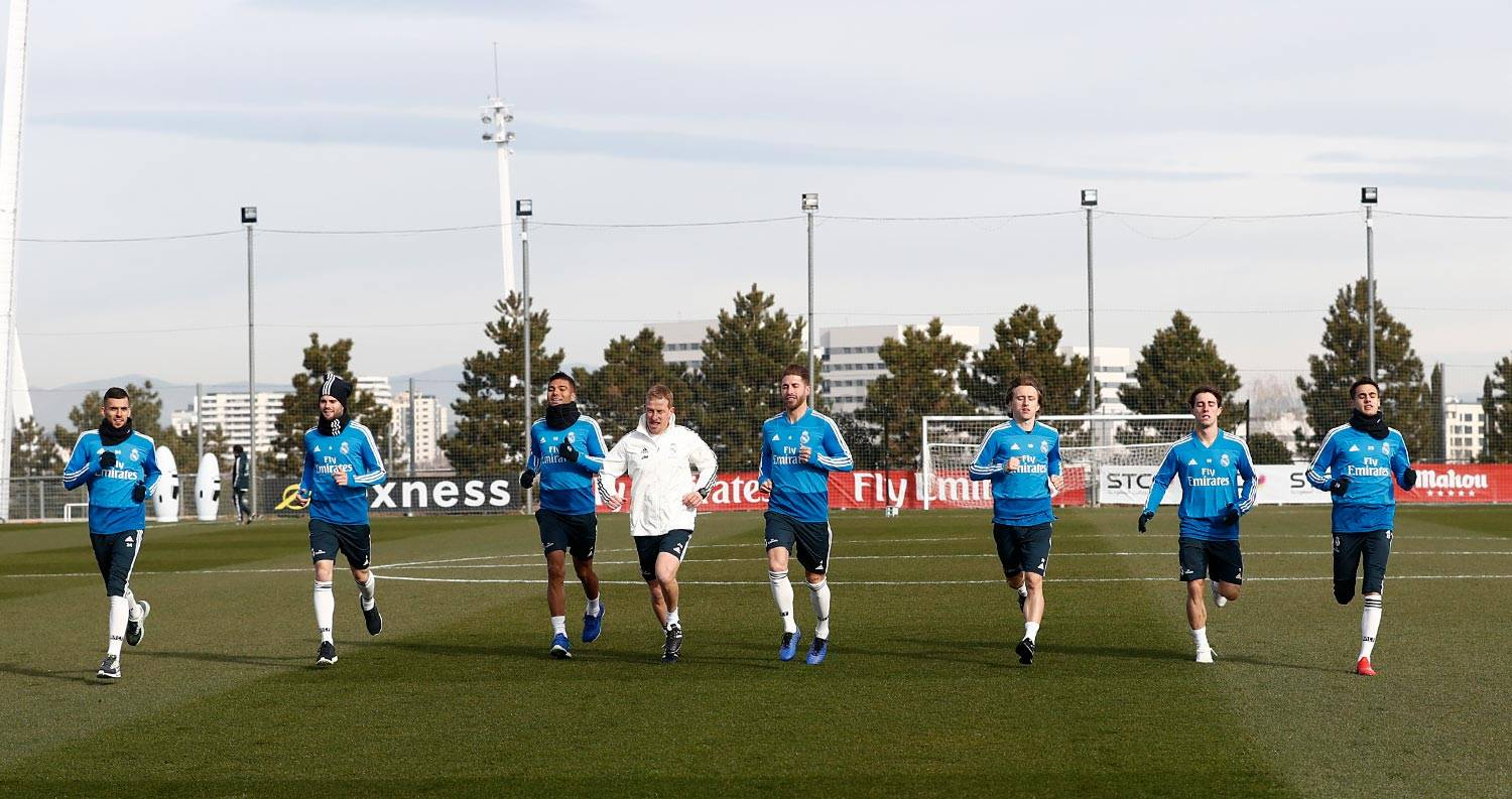 Real Madrid - Entrenamiento del Real Madrid - 04-02-2019