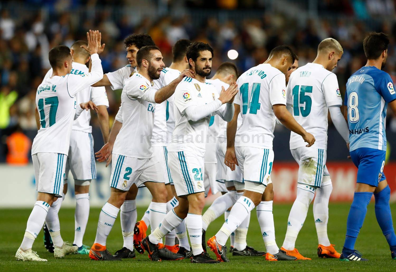 Real Madrid - Málaga - Real Madrid - 15-04-2018