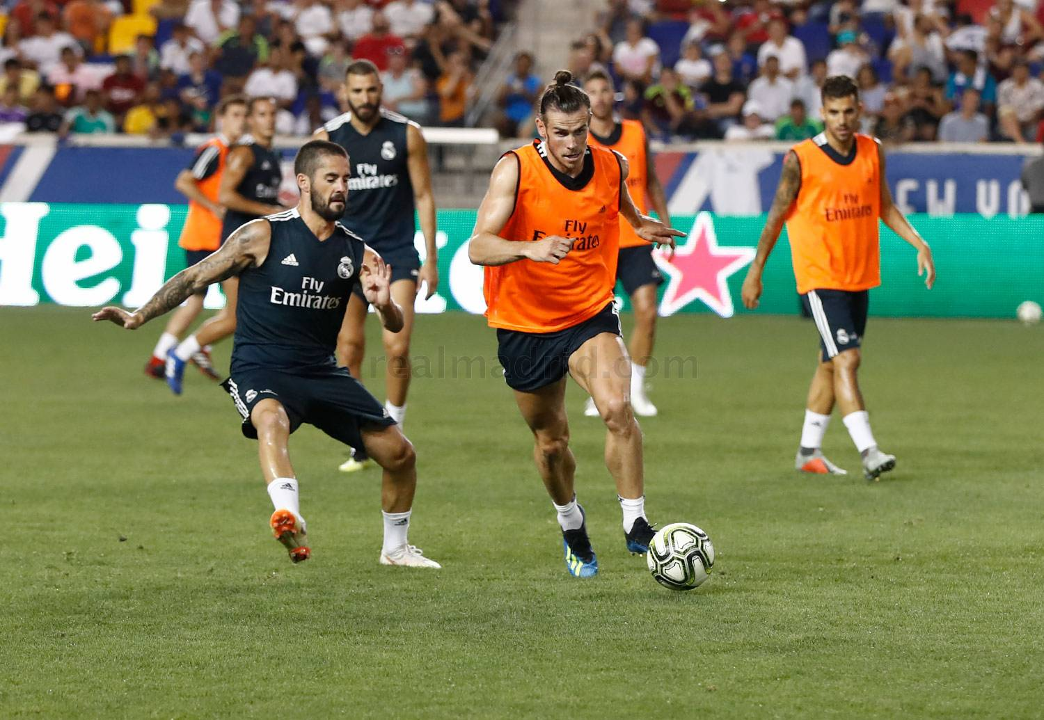Real Madrid - Entrenamiento del Real Madrid en el Red Bull Arena - 07-08-2018