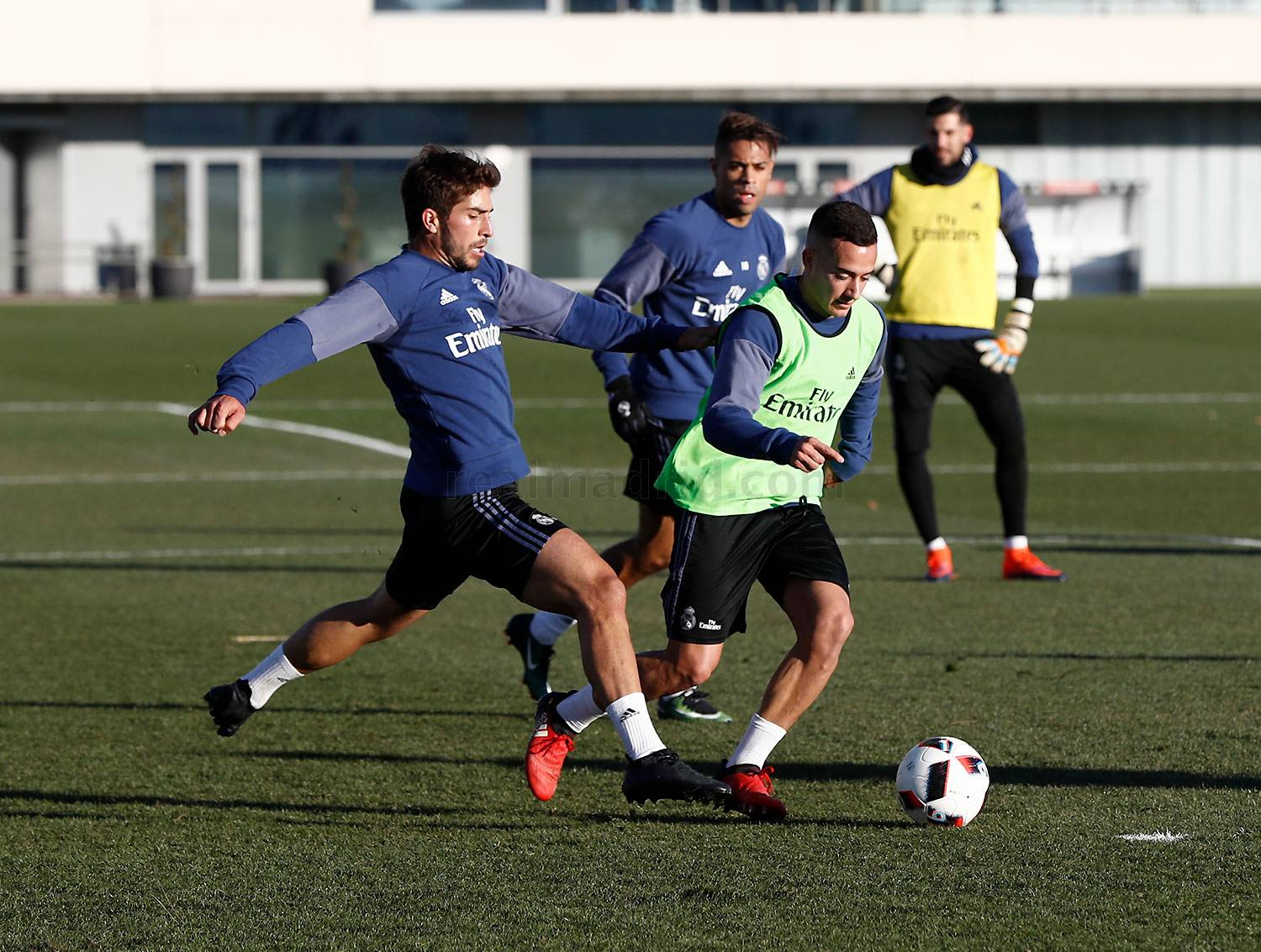 Real Madrid - Entrenamiento del Real Madrid - 16-01-2017