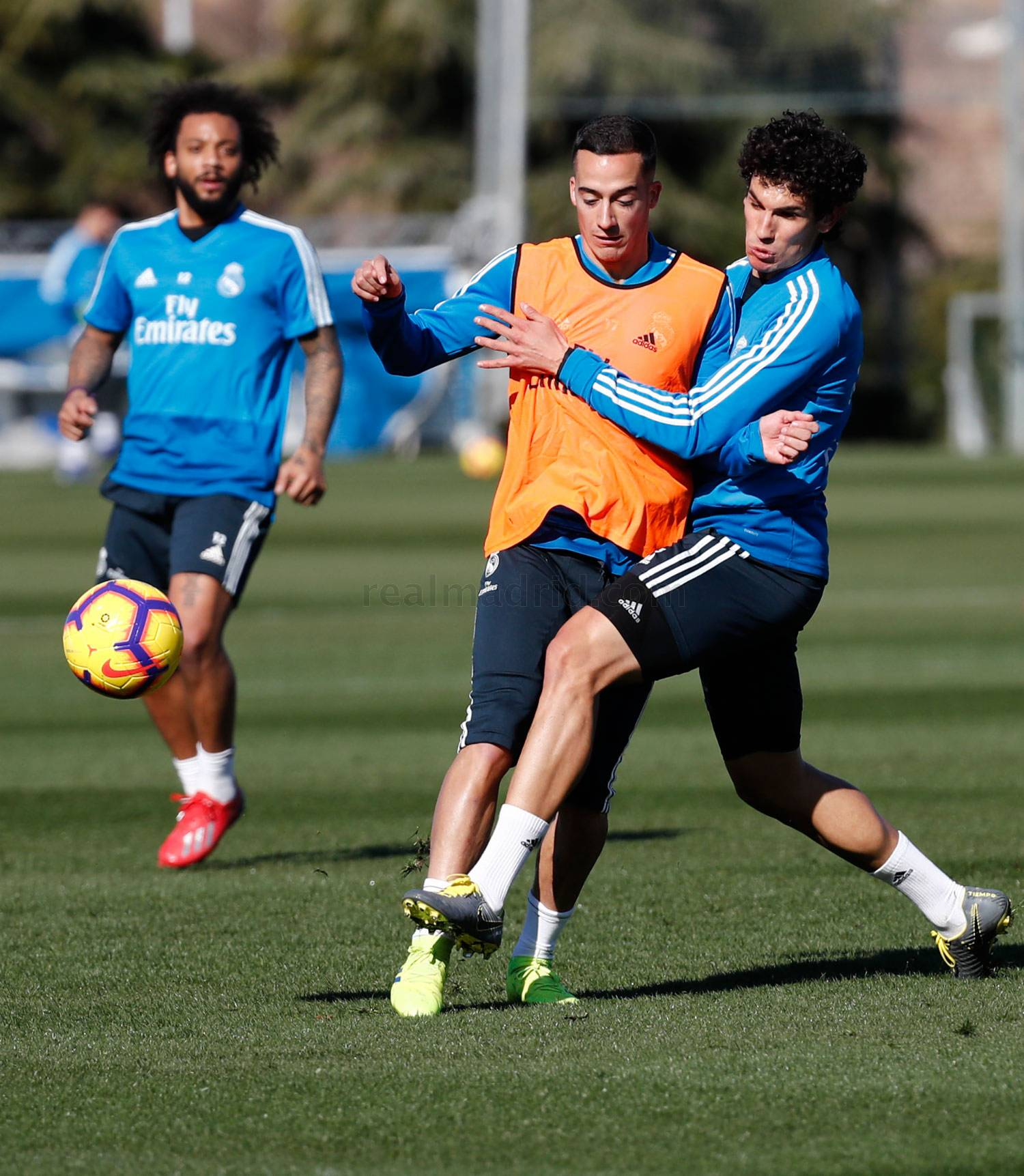 Real Madrid - Entrenamiento del Real Madrid - 16-02-2019