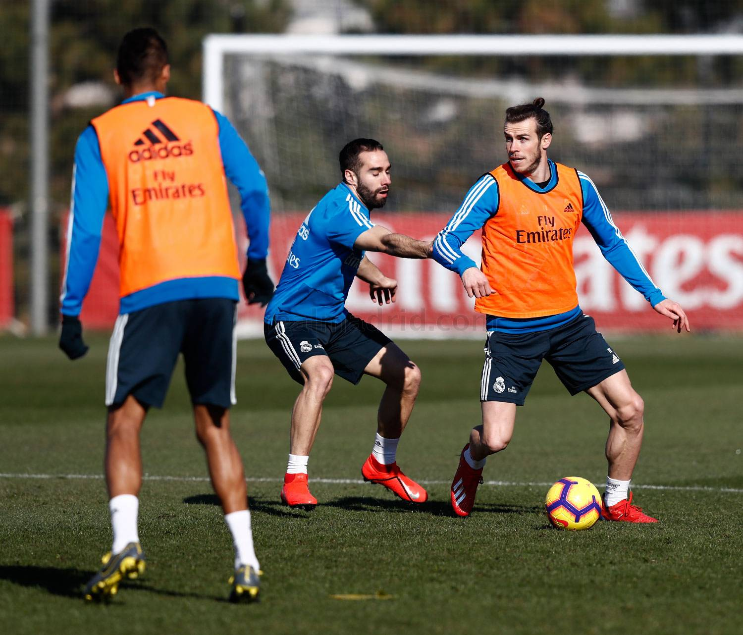 Real Madrid - Entrenamiento del Real Madrid - 08-02-2019