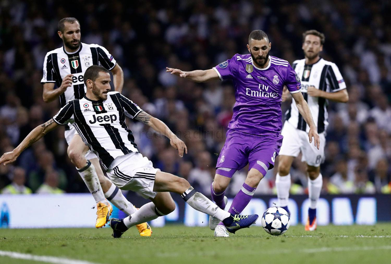 Real Madrid - Juventus - Real Madrid - 04-06-2017