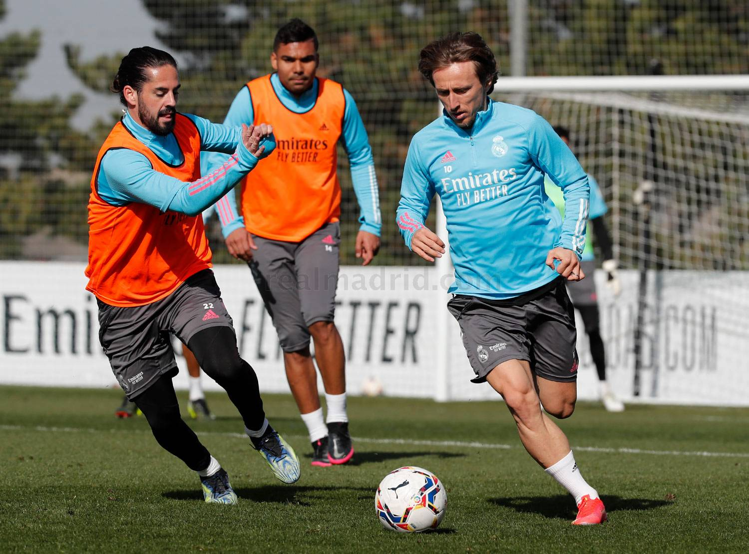 Real Madrid - Entrenamiento del Real Madrid  - 19-02-2021