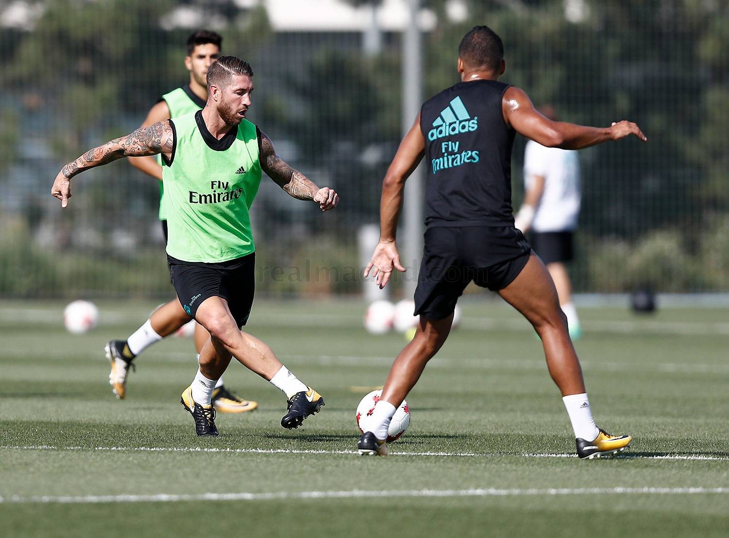 Real Madrid - Entrenamiento del Real Madrid - 22-08-2017