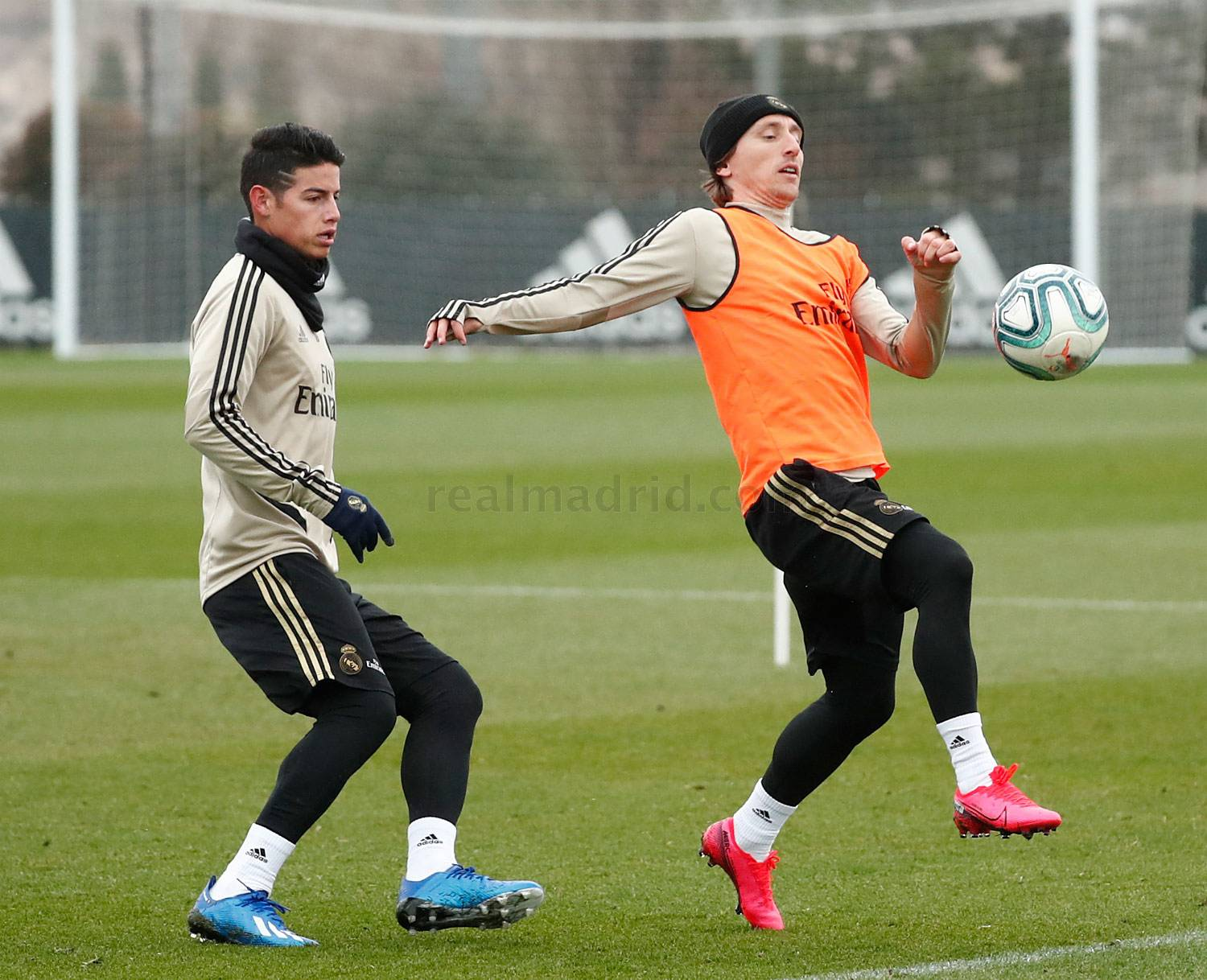 Real Madrid - Entrenamiento del Real Madrid  - 24-01-2020