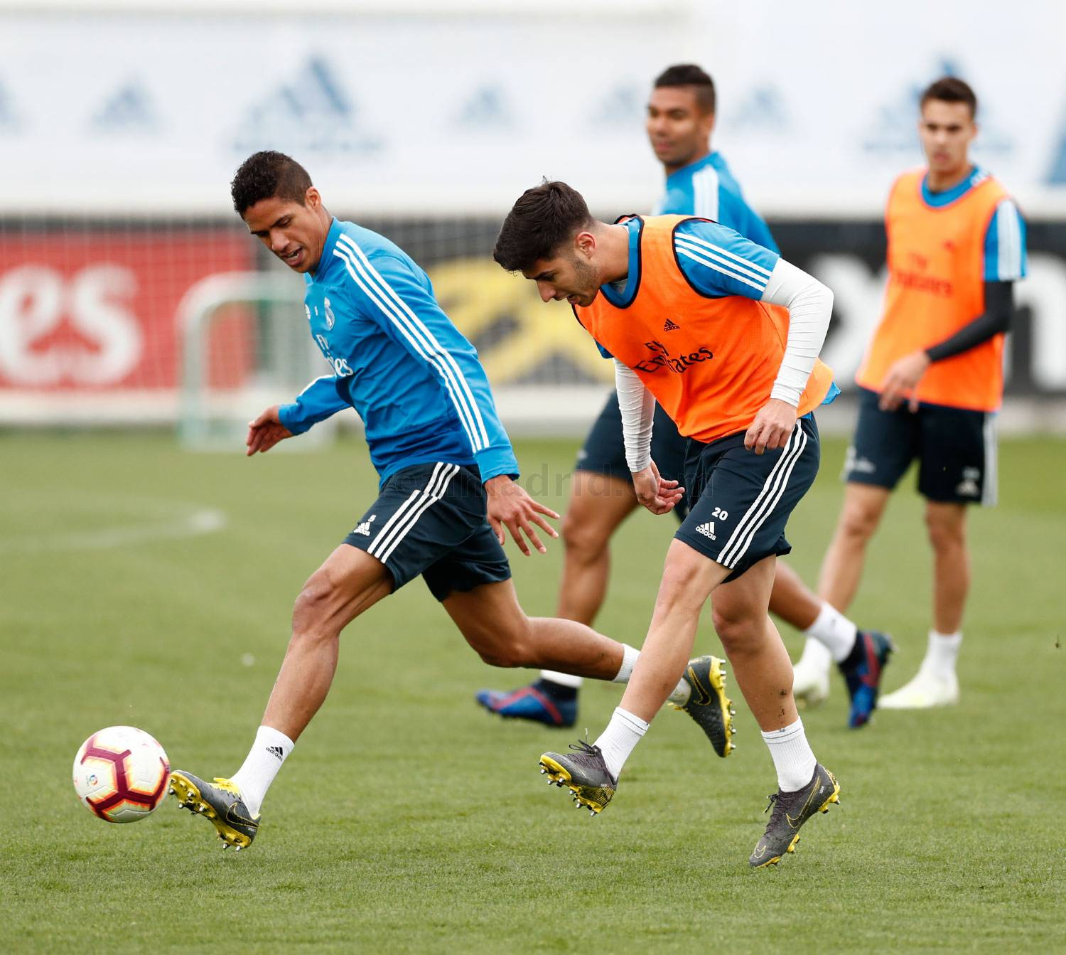 Real Madrid - Entrenamiento del Real Madrid - 01-04-2019