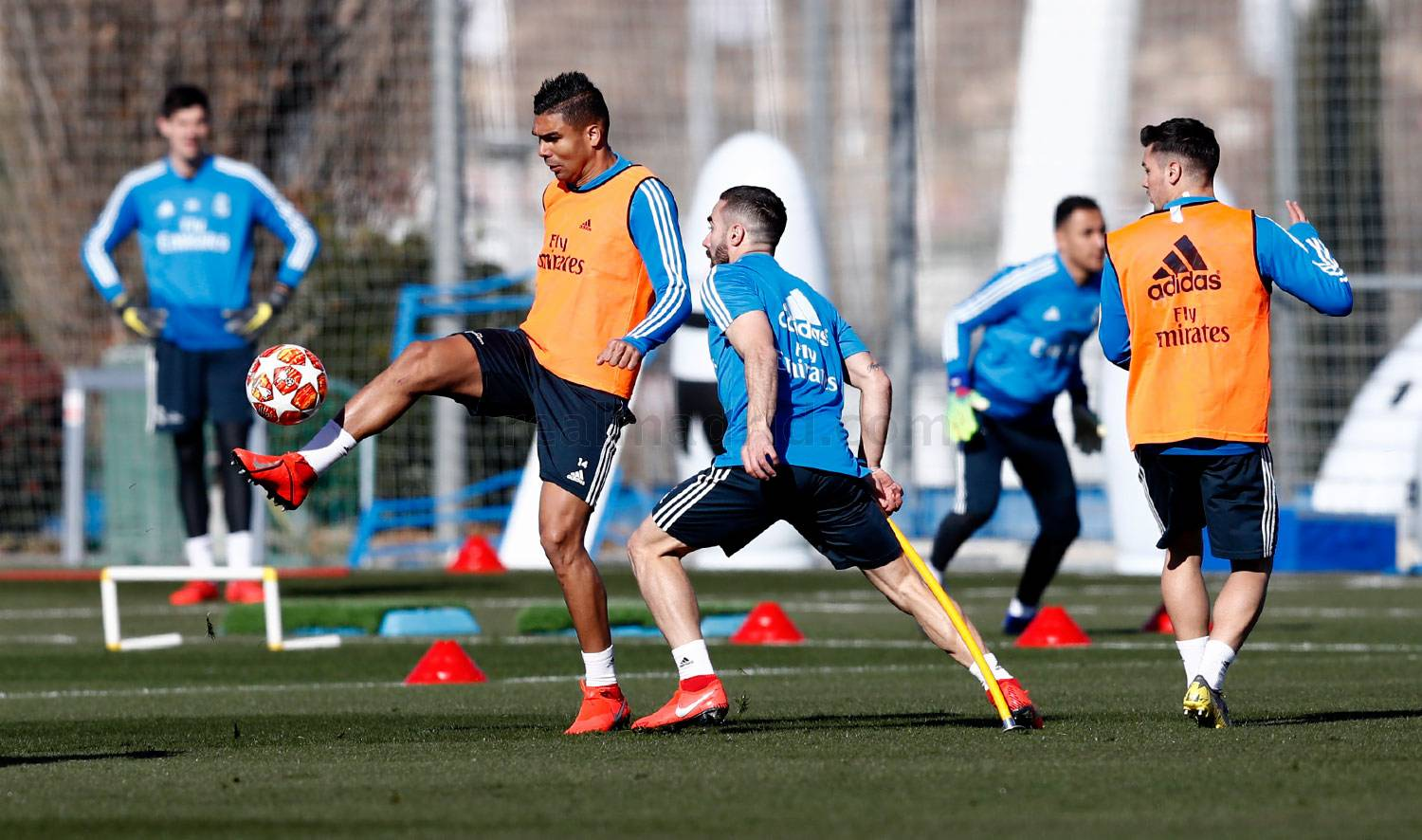 Real Madrid - Entrenamiento del Real Madrid - 11-02-2019
