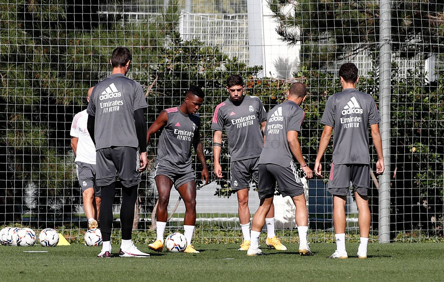 Real Madrid - Entrenamiento del Real Madrid  - 06-09-2020