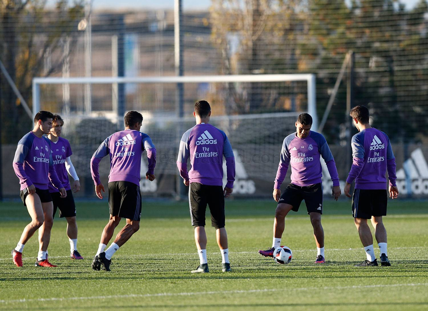 Real Madrid - Entrenamiento del Real Madrid - 28-11-2016