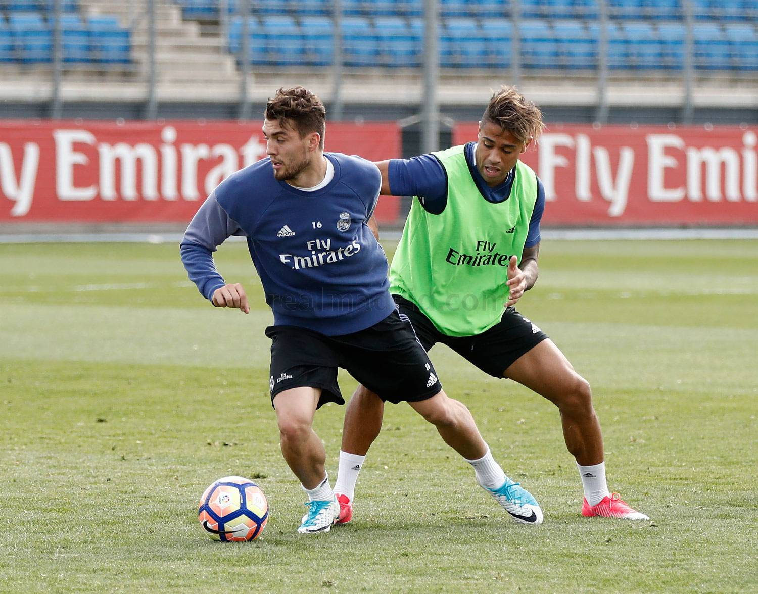 Real Madrid - Entrenamiento del Real Madrid - 13-04-2017