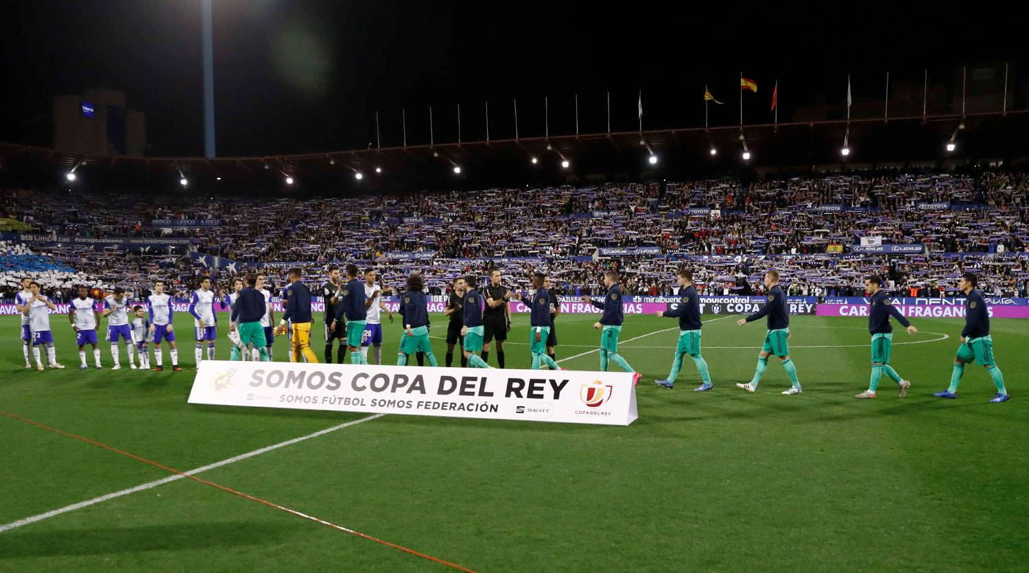 Real Madrid - Real Zaragoza - Real Madrid - 29-01-2020