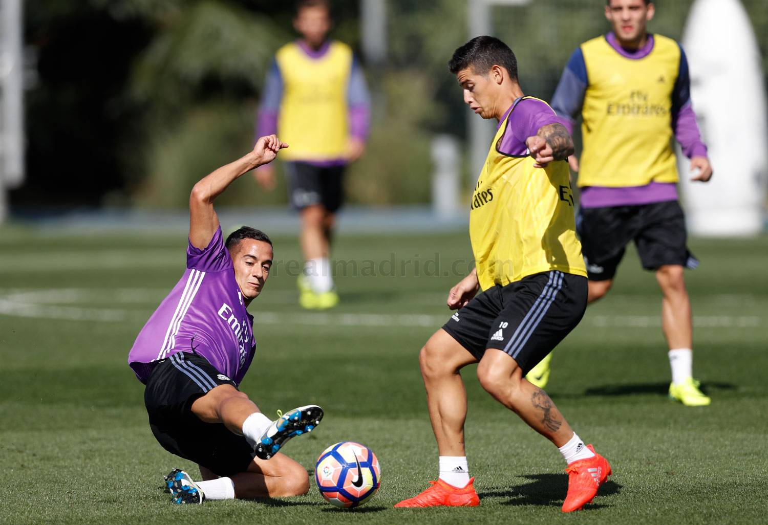 Real Madrid - Entrenamiento del Real Madrid - 20-09-2016