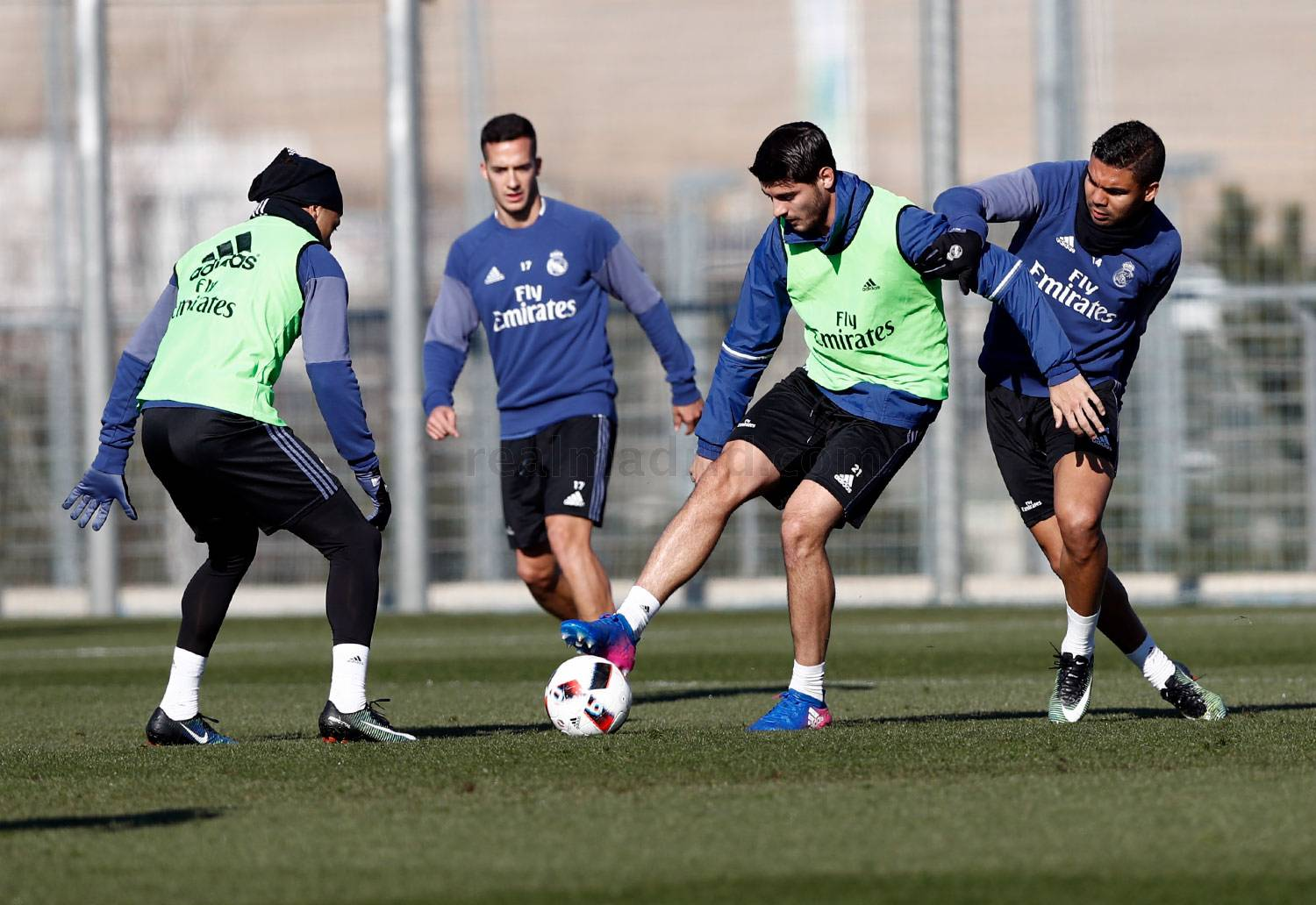 Real Madrid - Entrenamiento del Real Madrid - 24-01-2017