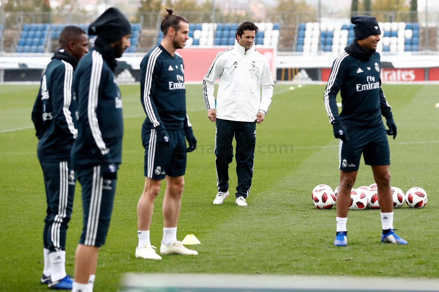 Real Madrid - Entrenamiento del Real Madrid - 30-10-2018