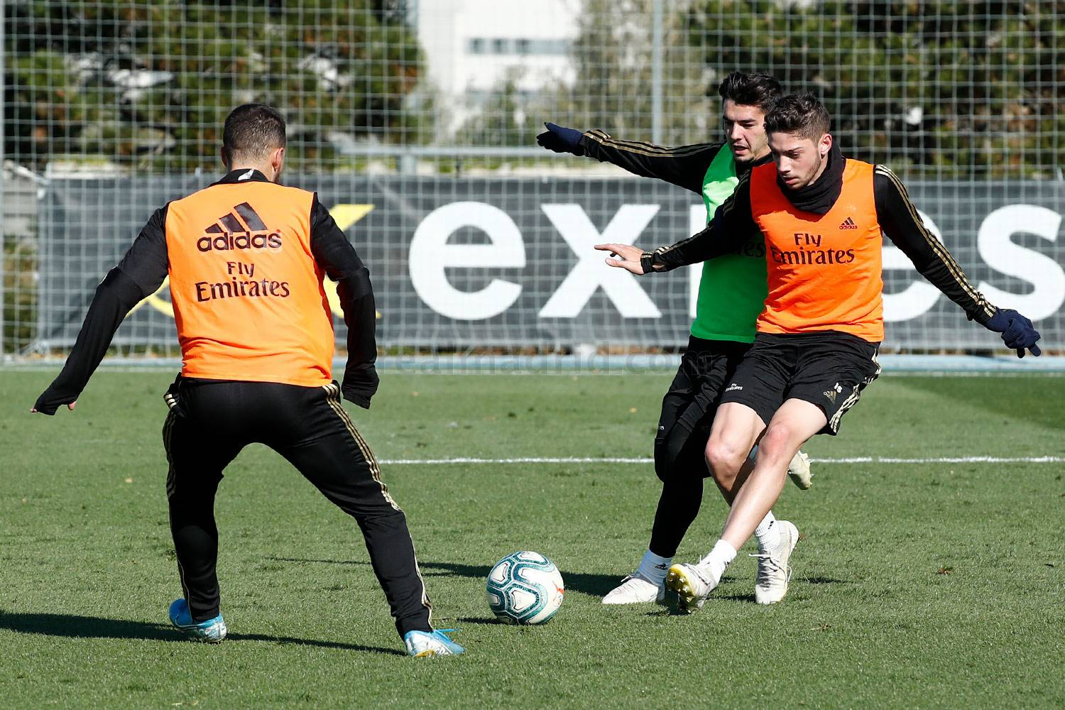 Real Madrid - Entrenamiento del Real Madrid  - 08-11-2019