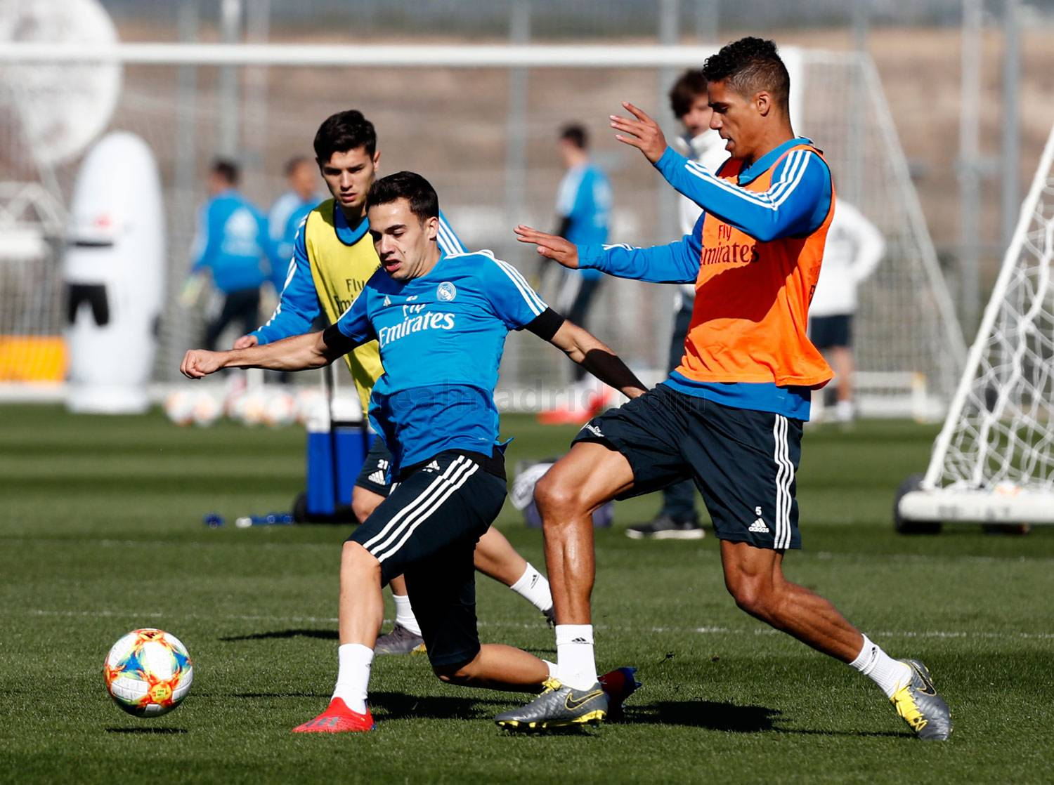 Real Madrid - Entrenamiento del Real Madrid - 26-02-2019