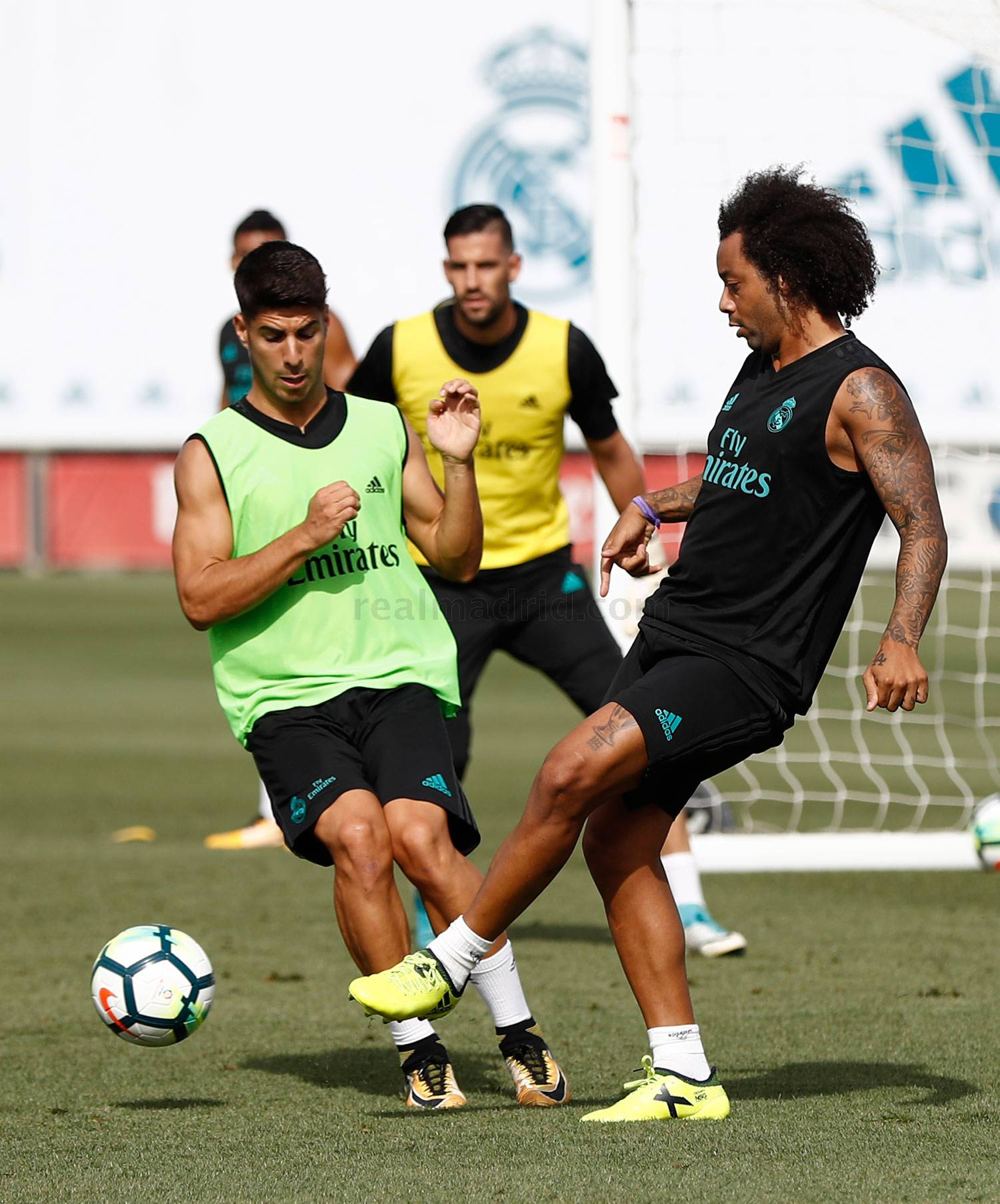 Real Madrid - Entrenamiento del Real Madrid - 26-08-2017