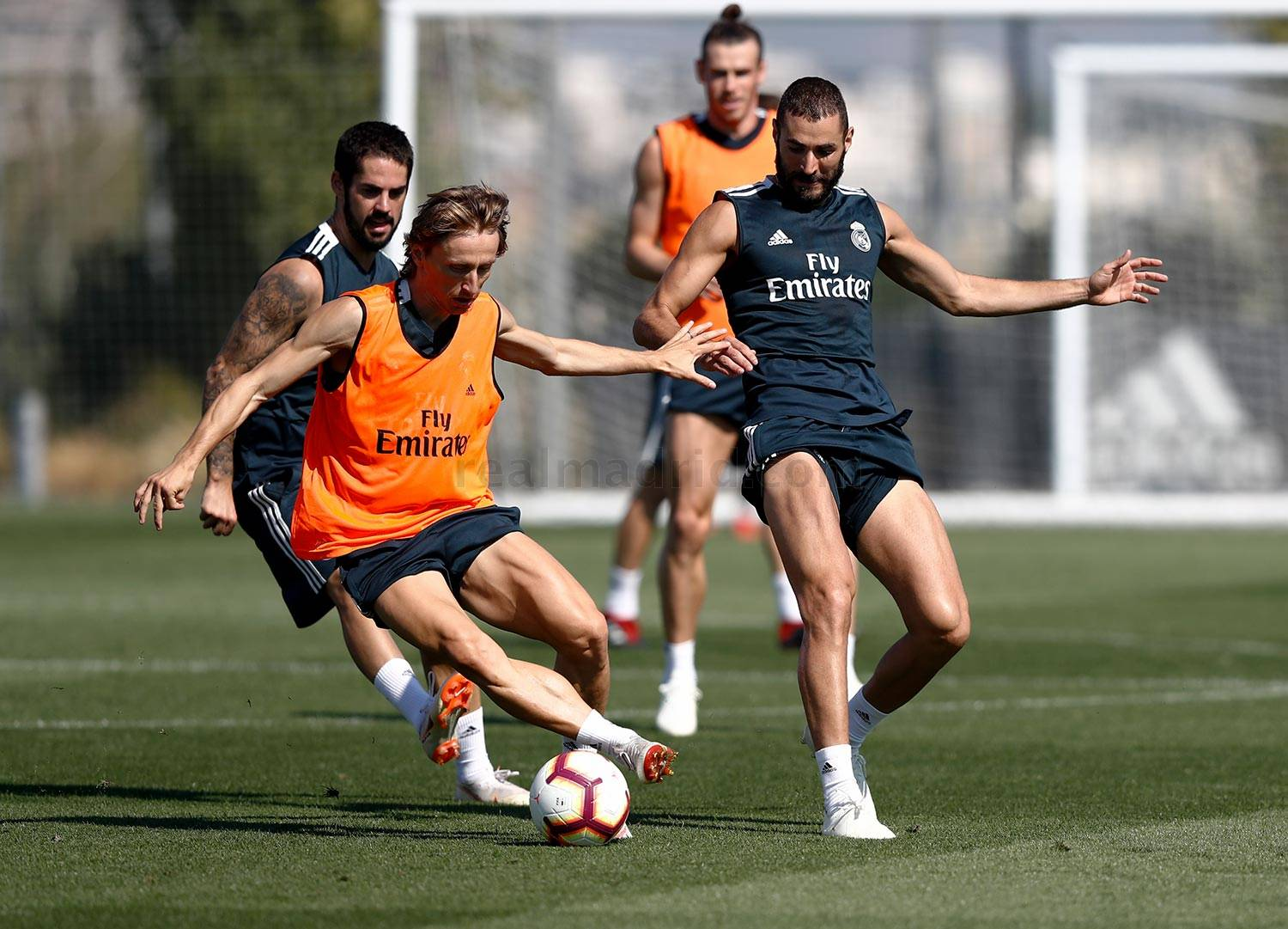Real Madrid - Entrenamiento del Real Madrid - 13-09-2018