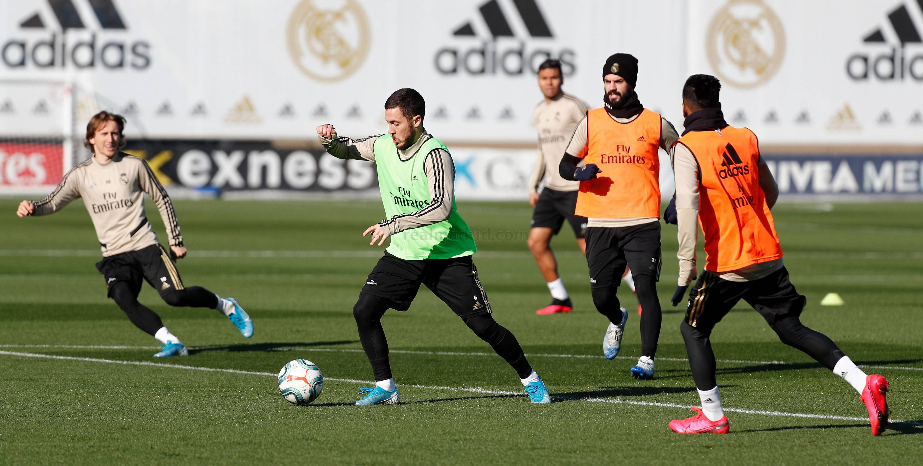 Real Madrid - Entrenamiento del Real Madrid  - 31-01-2020