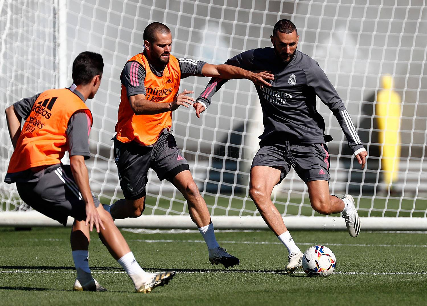 Real Madrid - Entrenamiento del Real Madrid  - 08-09-2020
