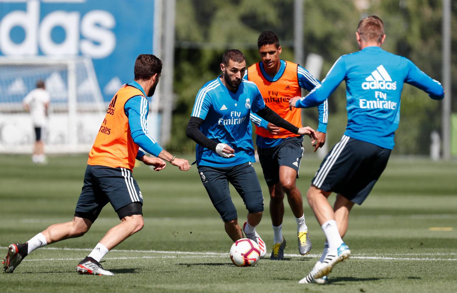 Real Madrid - Entrenamiento del Real Madrid - 09-05-2019