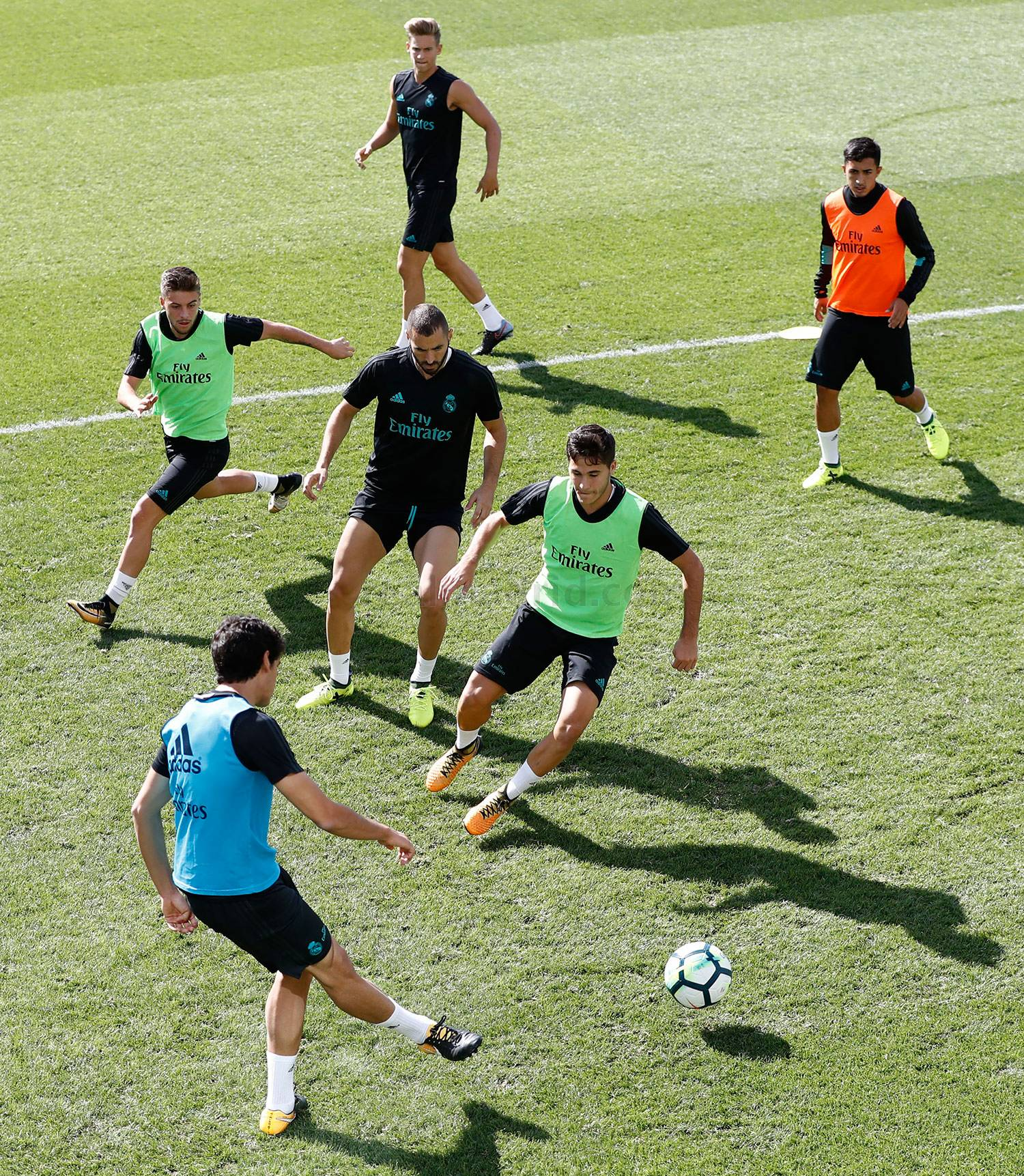 Real Madrid - Entrenamiento del Real Madrid - 30-08-2017