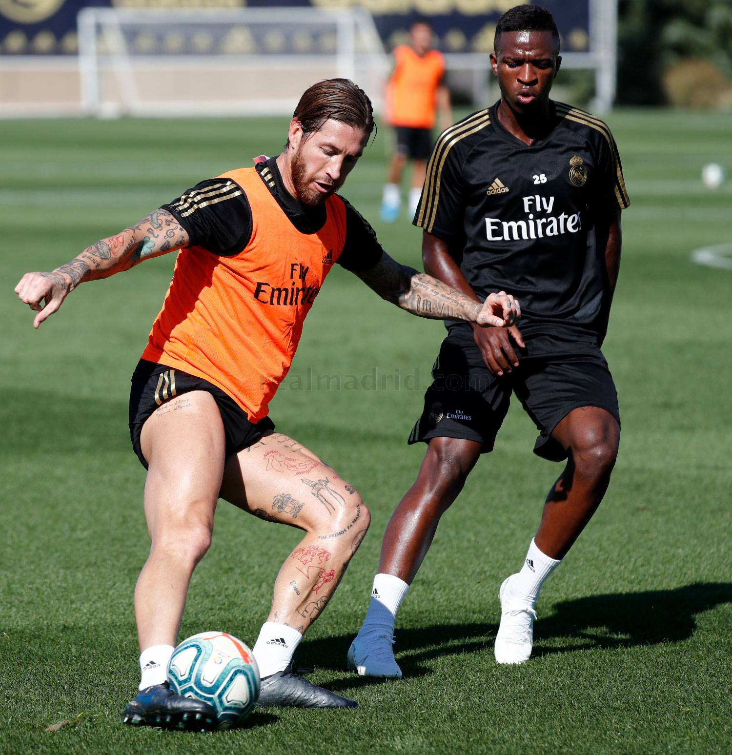 Real Madrid - Entrenamiento del Real Madrid  - 27-09-2019