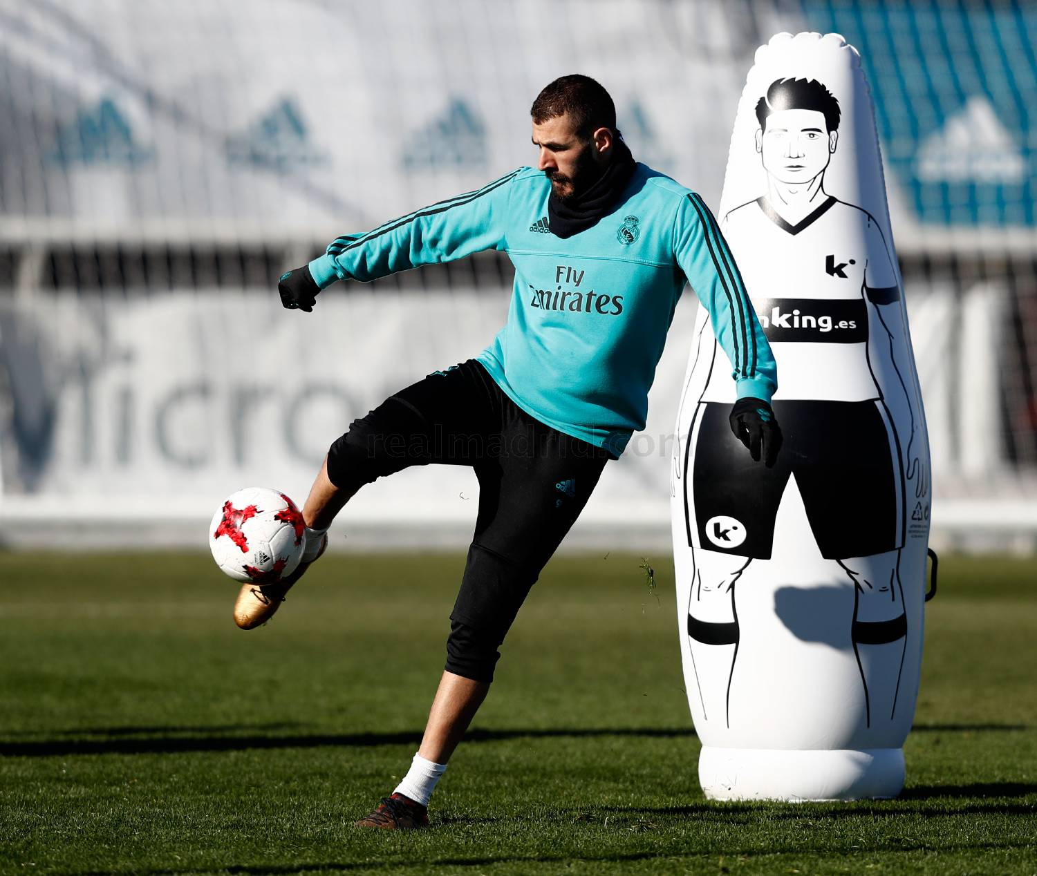 Real Madrid - Entrenamiento del Real Madrid - 22-01-2018