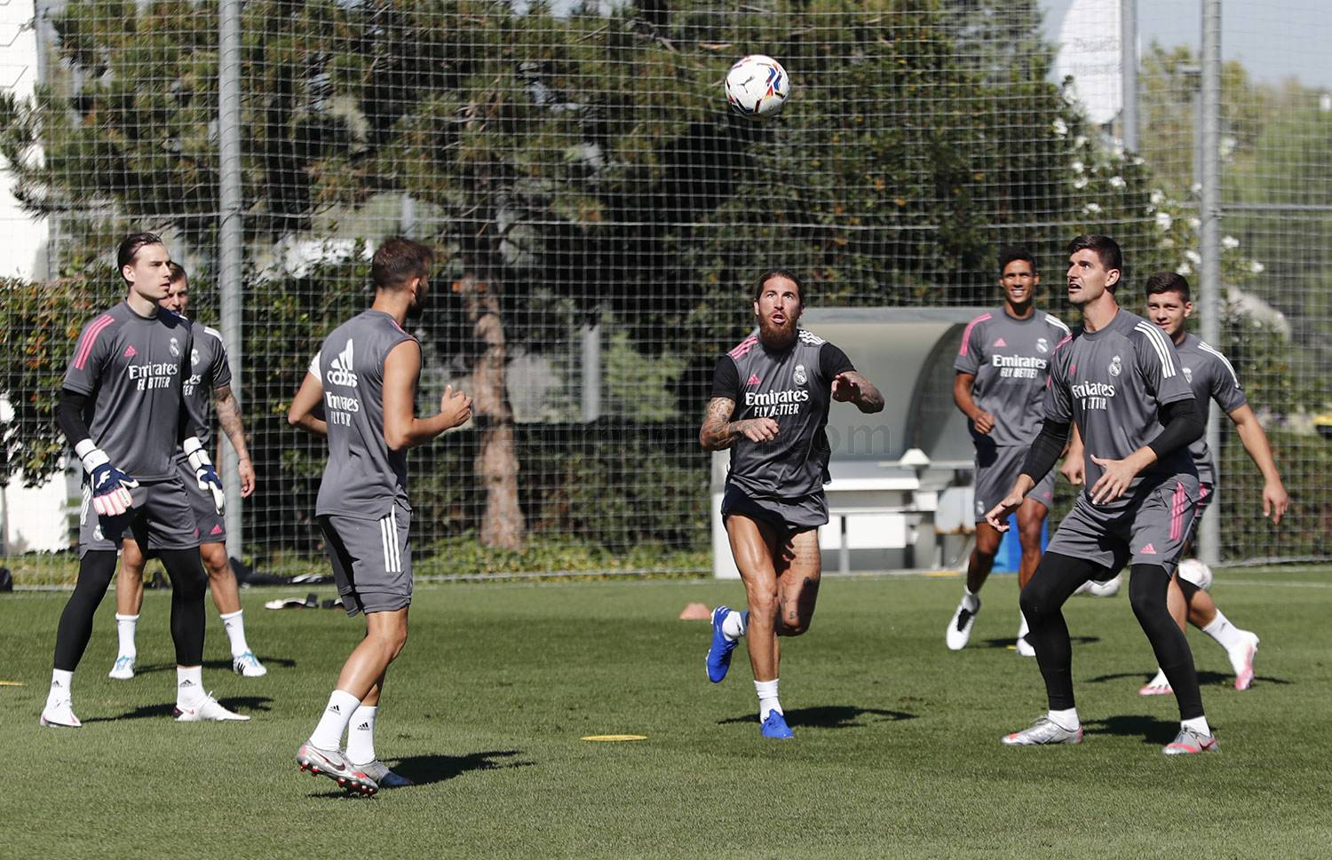 Real Madrid - Entrenamiento del Real Madrid  - 10-09-2020