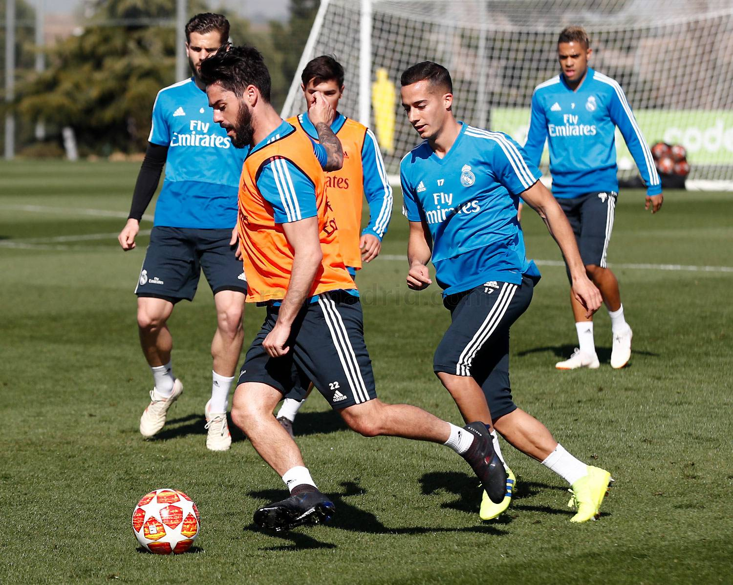 Real Madrid - Entrenamiento del Real Madrid - 03-03-2019