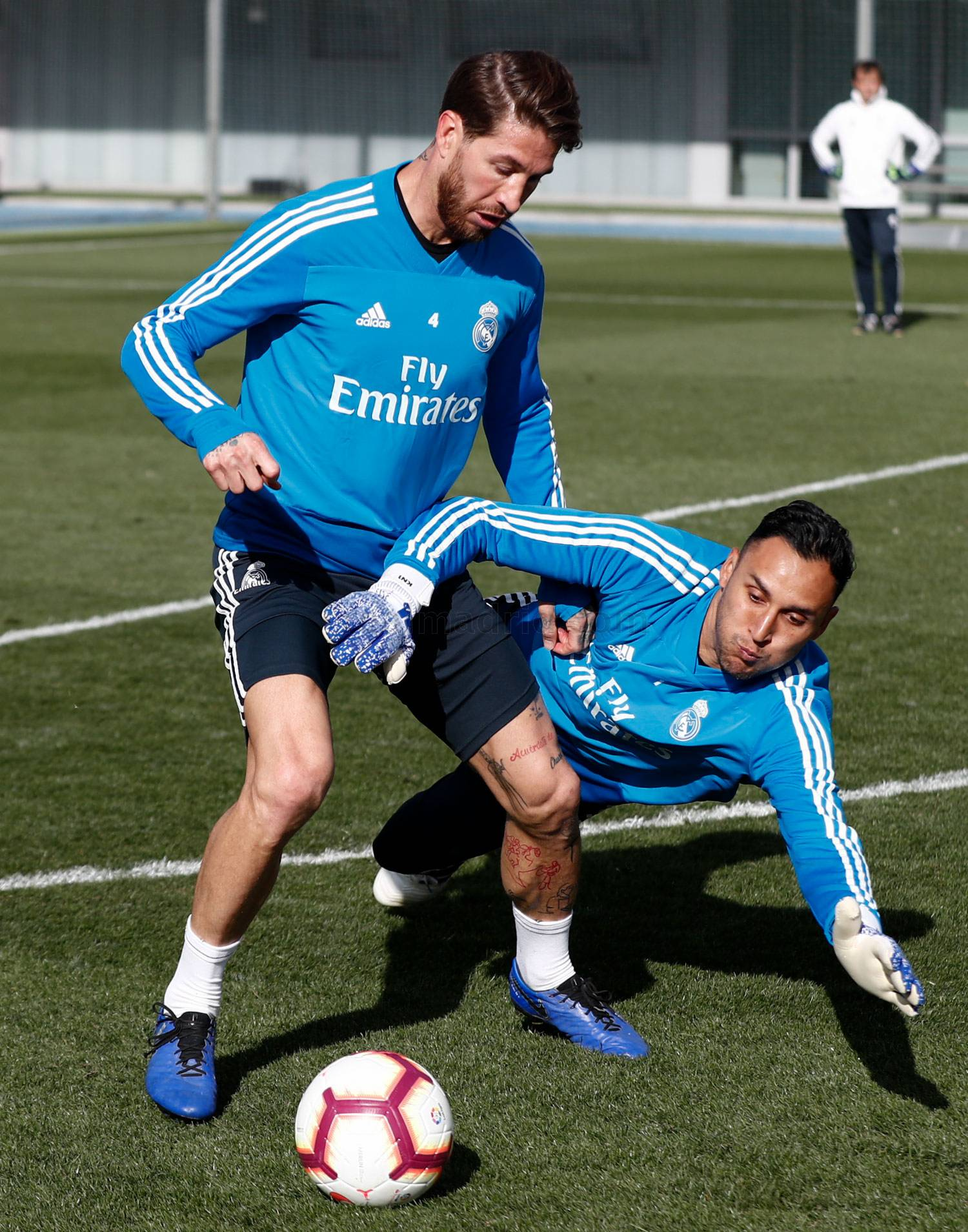 Real Madrid - Entrenamiento del Real Madrid - 10-04-2019