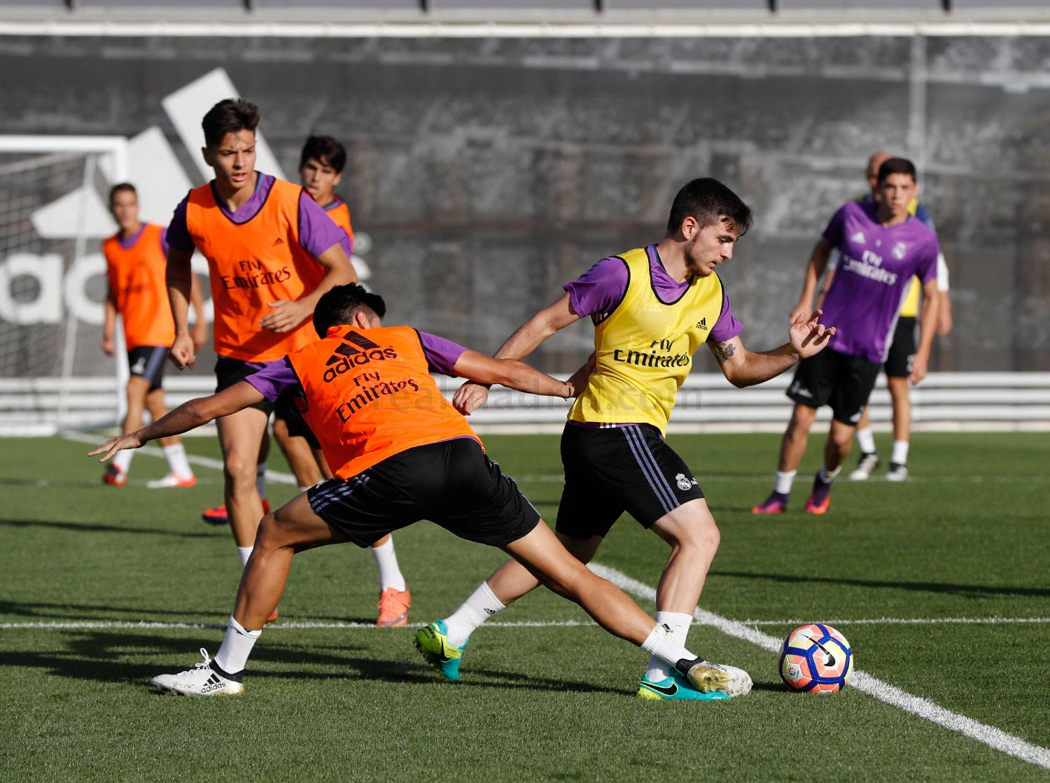 Real Madrid - Entrenamiento del Real Madrid - 05-10-2016