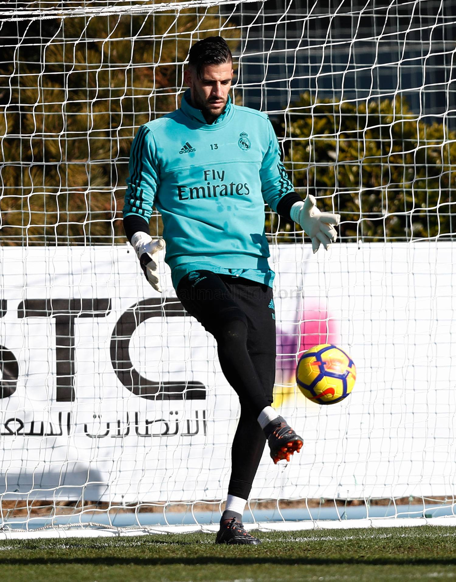 Real Madrid - Entrenamiento del Real Madrid - 30-01-2018