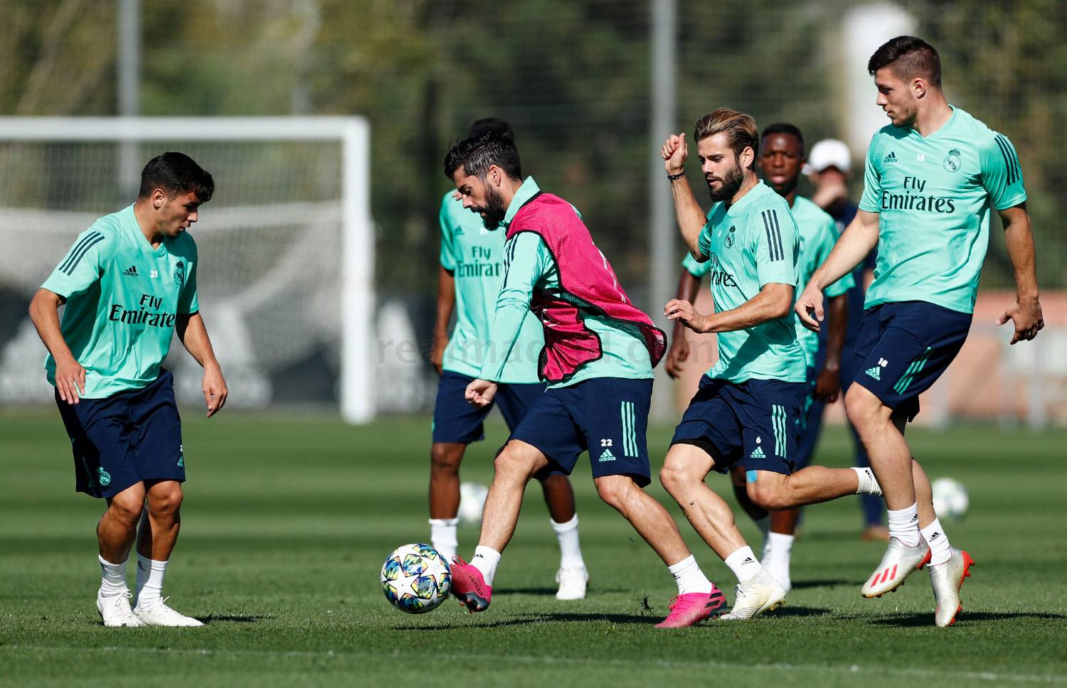 Real Madrid - Entrenamiento del Real Madrid  - 30-09-2019