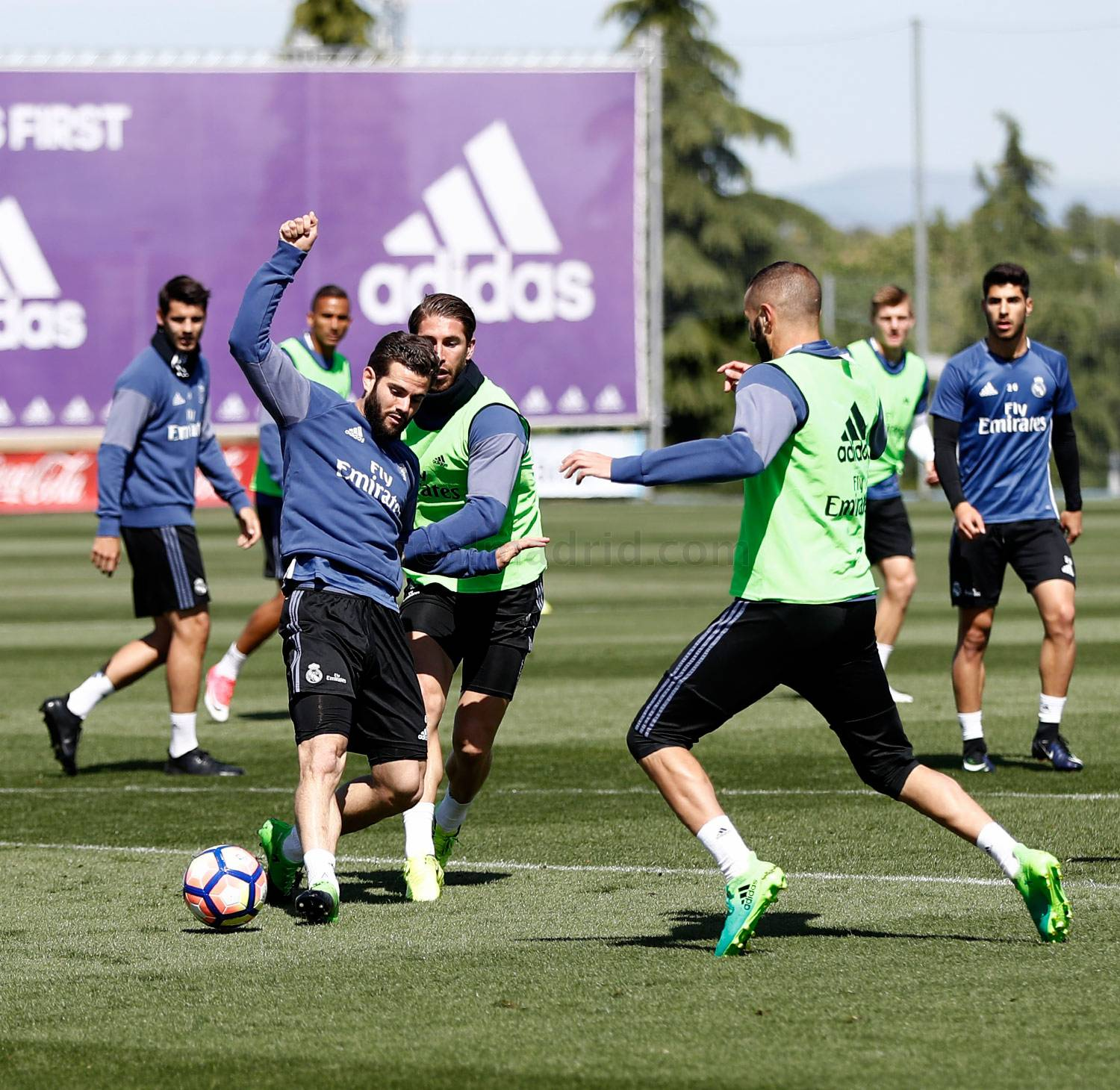 Real Madrid - Entrenamiento del Real Madrid - 28-04-2017