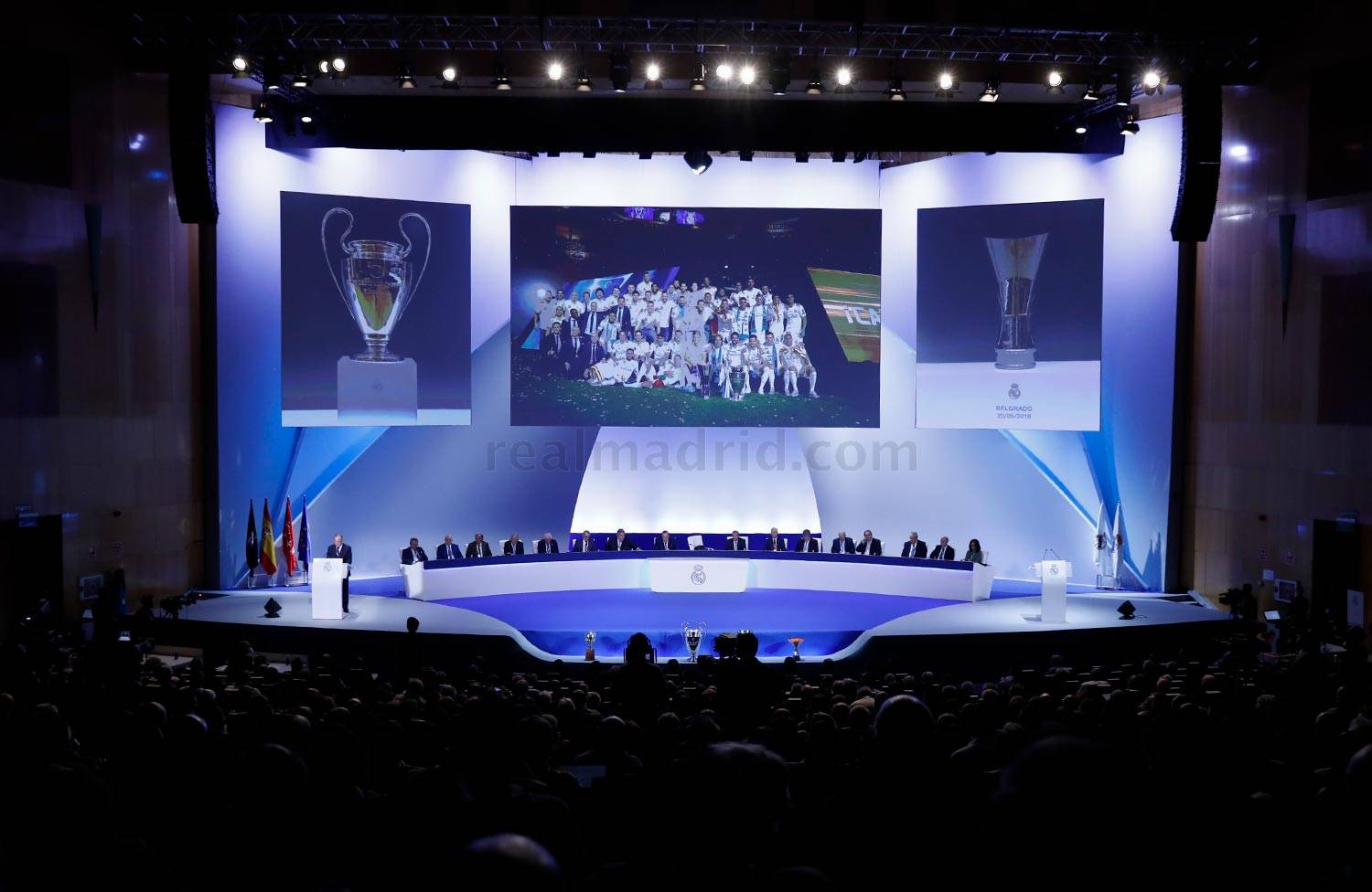 Real Madrid - Asamblea General Ordinaria 2018 - 23-09-2018