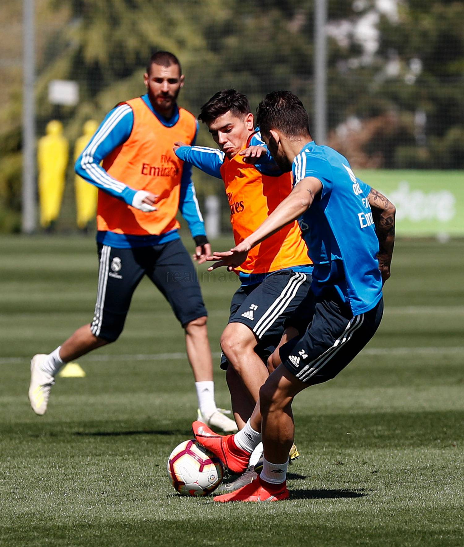 Real Madrid - Entrenamiento del Real Madrid - 13-04-2019