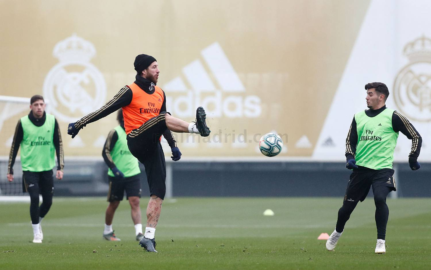 Real Madrid - Entrenamiento del Real Madrid  - 21-11-2019