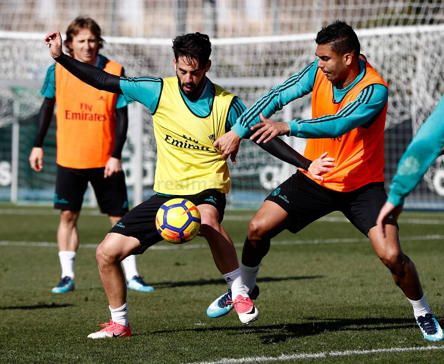 Real Madrid - Entrenamiento del Real Madrid - 31-01-2018