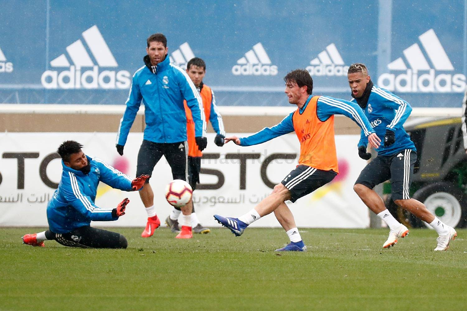 Real Madrid - Entrenamiento del Real Madrid - 06-03-2019