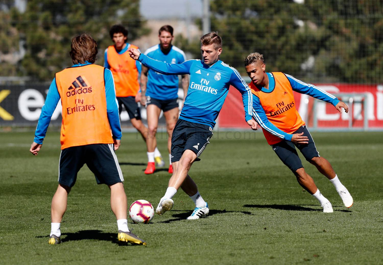 Real Madrid - Entrenamiento del Real Madrid - 07-03-2019