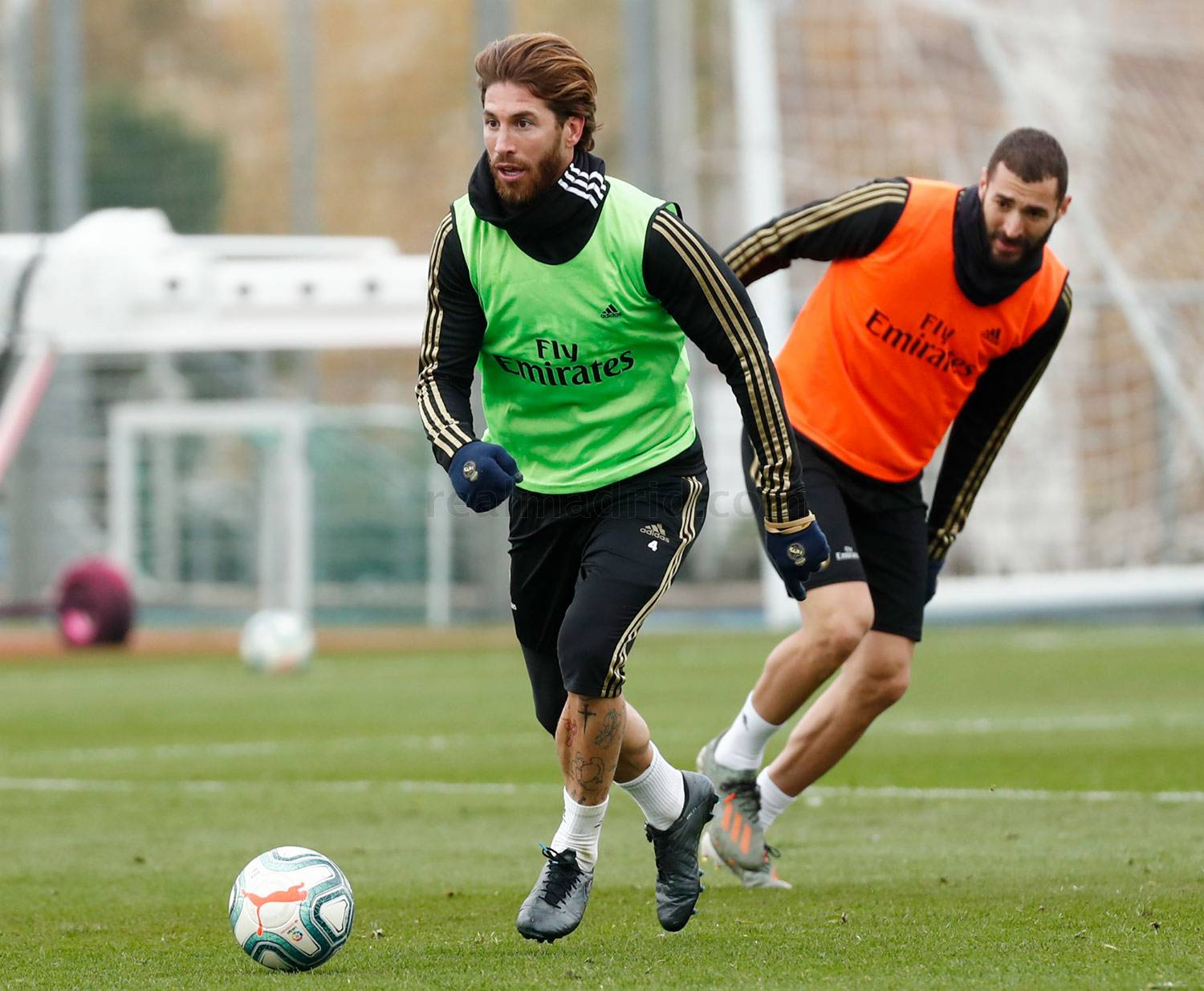 Real Madrid - Entrenamiento del Real Madrid  - 22-11-2019