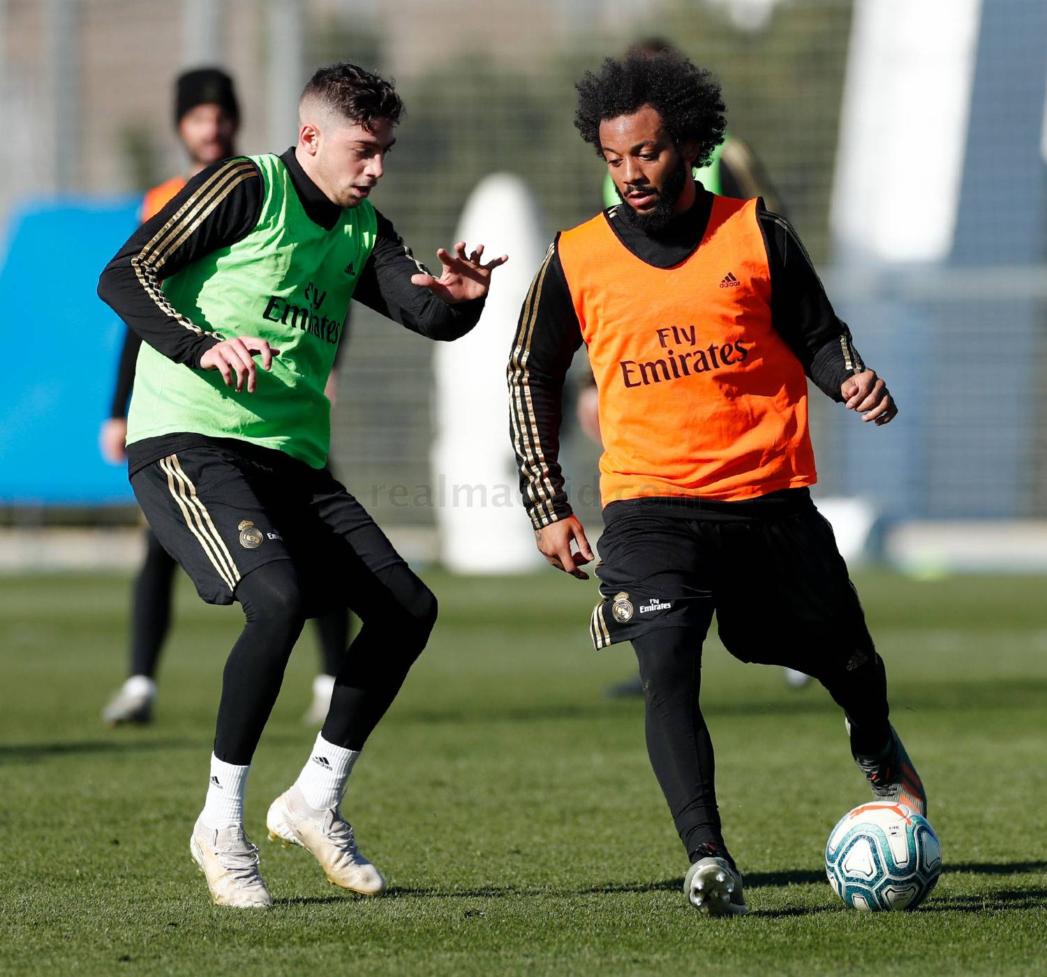 Real Madrid - Entrenamiento del Real Madrid  - 06-01-2020