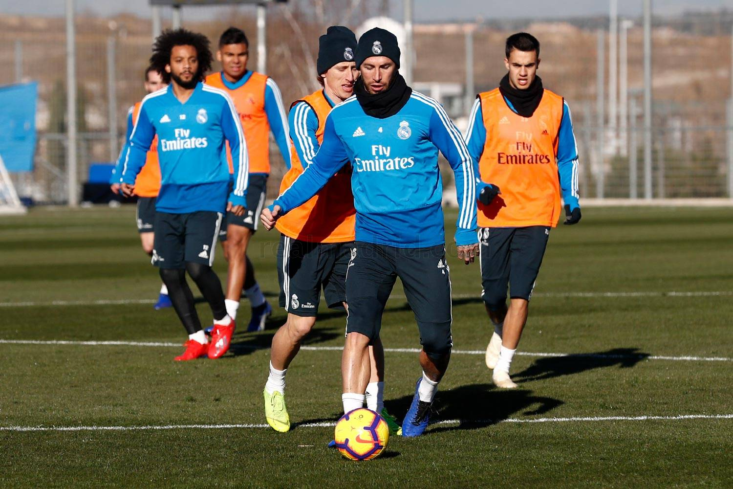 Real Madrid - Entrenamiento del Real Madrid - 11-01-2019