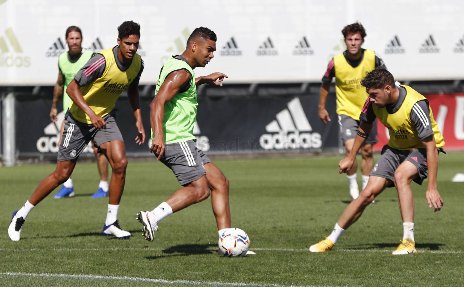 Real Madrid - Entrenamiento del Real Madrid  - 13-09-2020