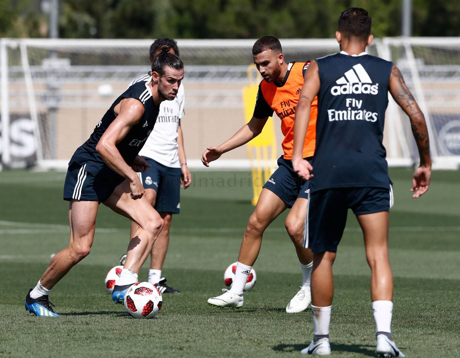 Real Madrid - Entrenamiento del Real Madrid - 18-07-2018