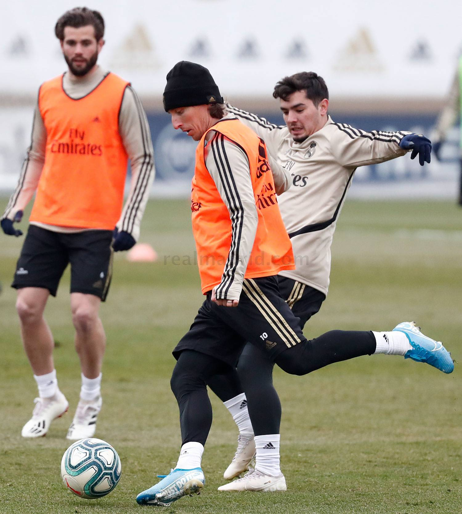 Real Madrid - Entrenamiento del Real Madrid  - 15-01-2020
