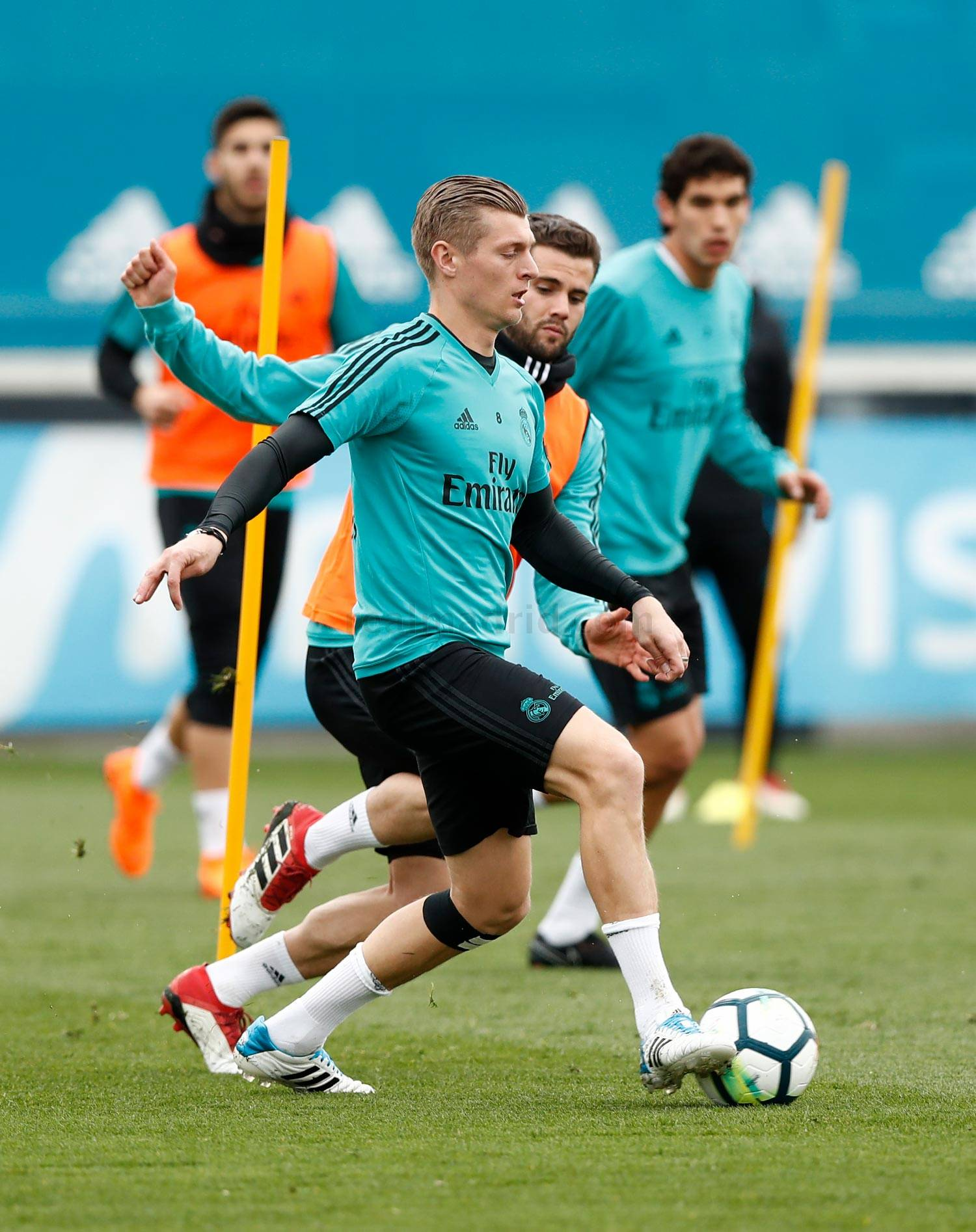 Real Madrid - Entrenamiento del Real Madrid - 13-03-2018