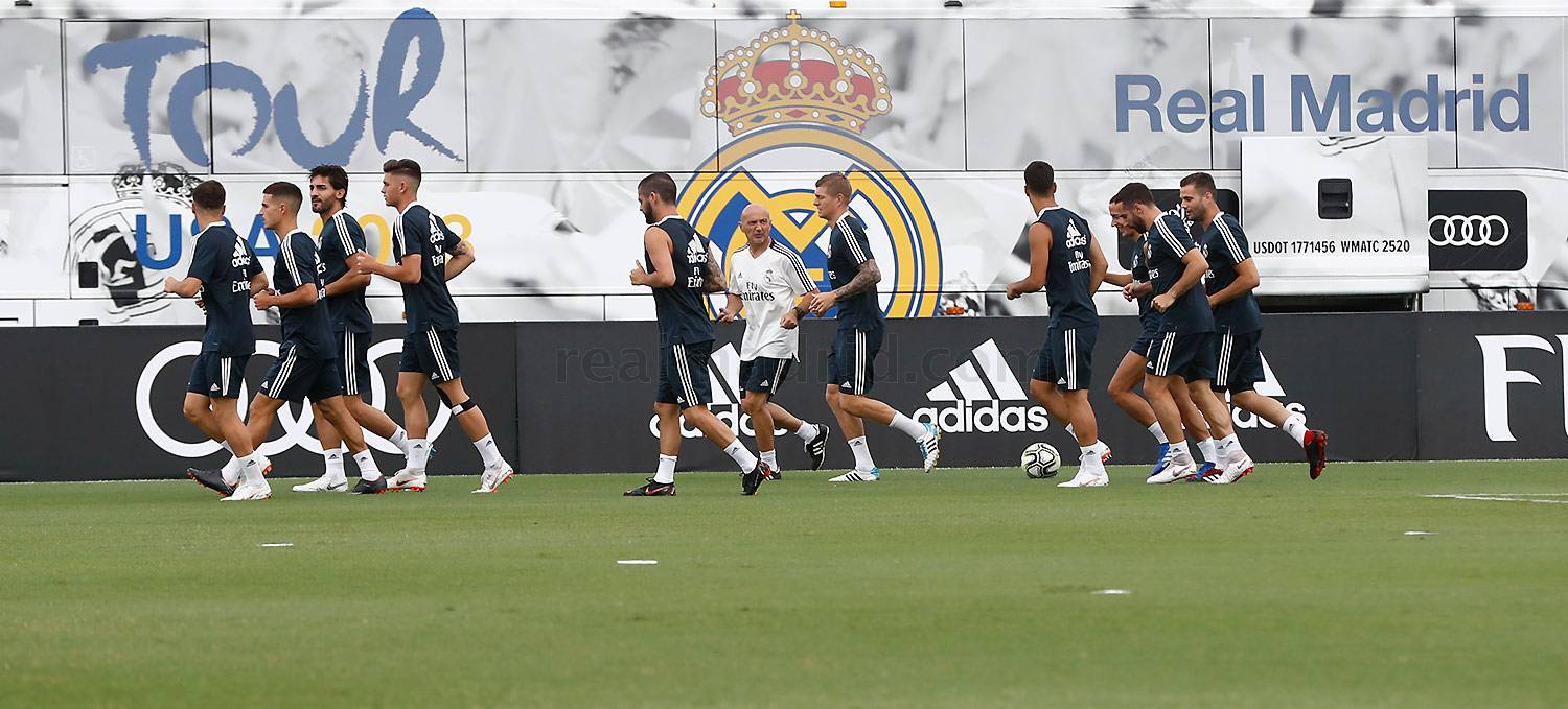 Real Madrid - Entrenamiento del Real Madrid en FIU - 30-07-2018